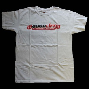 Goodlift T-Shirt - white