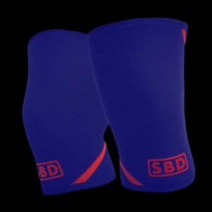 SBD knee sleeves blue - limited edition