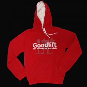 Goodlift Hooded Jumper - red