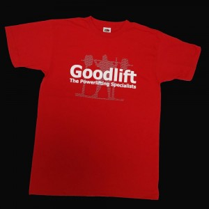 Goodlift T-Shirt - red, squat