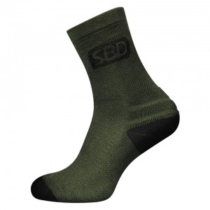 SBD Endure Sports Socks - green