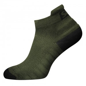SBD Endure Trainer Socks - green