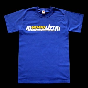 Goodlift T-Shirt - modré